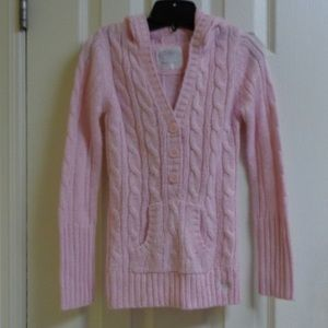 Justice Girls Pink Sweater